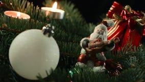 De Kerstboom is een verfraaide altijdgroene naaldboom, echt of kunstmatig, en een populaire traditie verbonden aan stock footage
