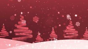 De kerstboom schiet 3 weg stock videobeelden
