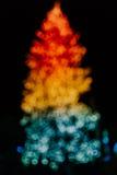 De Kerstboom van Bokeh Royalty-vrije Stock Fotografie