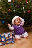 De Kerstboom van de baby Stock Afbeelding