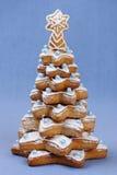De Kerstboom van de peperkoek Stock Afbeelding