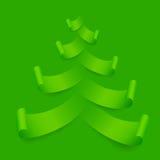 De Kerstboom van het document Royalty-vrije Stock Fotografie
