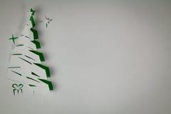 De Kerstboom van het document Royalty-vrije Stock Afbeelding