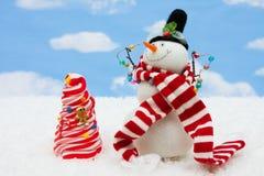De Kerstboom van het suikergoed royalty-vrije stock afbeelding