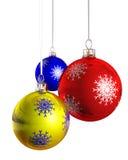 De Kerstboom van Kerstmis van de snuisterij Royalty-vrije Stock Fotografie