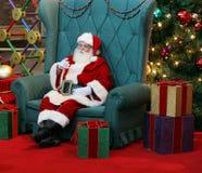 De Kerstman Stock Fotografie