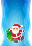 De Kerstman. Stock Afbeeldingen