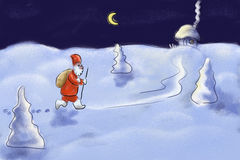 De Kerstman Royalty-vrije Stock Foto