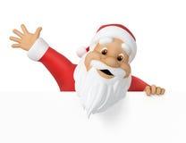 De Kerstman stock illustratie