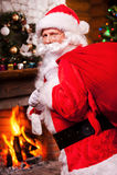 De Kerstman _2 Royalty-vrije Stock Afbeeldingen