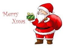 De Kerstman _2 Royalty-vrije Illustratie