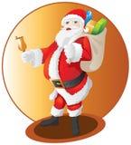 De Kerstman Stock Foto