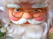 De Kerstman in al soort stemmingen Royalty-vrije Stock Foto's