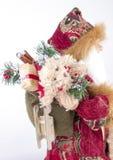 De Kerstman brengt giften Royalty-vrije Stock Afbeeldingen