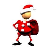De Kerstman clippart Royalty-vrije Stock Afbeeldingen