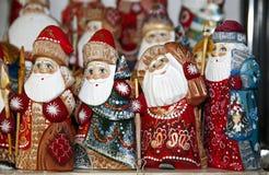 De Kerstman die aan stad komt Royalty-vrije Stock Foto