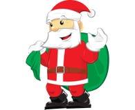 De Kerstman dreamstime stock afbeeldingen