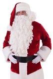 De Kerstman isoleerde Royalty-vrije Stock Afbeeldingen