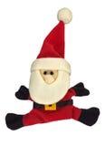 De Kerstman isoleerde Stock Foto