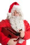 De Kerstman met bier Stock Afbeelding