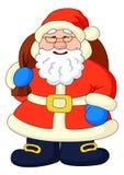 De Kerstman met met zak van giften Royalty-vrije Stock Afbeeldingen