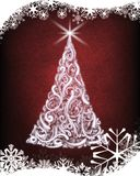 De Kerstman op een slee Royalty-vrije Stock Foto