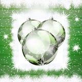 De Kerstman op een slee royalty-vrije stock afbeeldingen