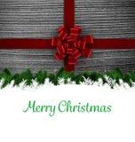 De Kerstman op een slee Stock Foto