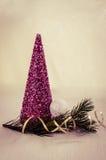 De Kerstman op een slee Royalty-vrije Stock Fotografie
