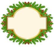 De Kerstman op een slee Royalty-vrije Stock Afbeelding