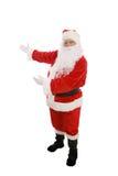 De kerstman stelt voor Stock Fotografie
