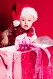 De Kerstman van de baby stock afbeeldingen