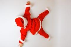 De Kerstman van de baby Stock Fotografie