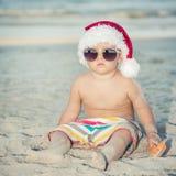 De Kerstman van de baby Royalty-vrije Stock Afbeeldingen