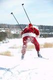 De Kerstman van Hasting Stock Fotografie