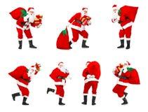 De Kerstman van Kerstmis Royalty-vrije Stock Afbeeldingen