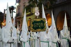 De Kerstman van Semana - Heilige Week Stock Fotografie