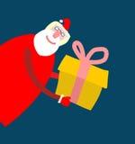 De Kerstman _2 Vrolijke Kerstmisgrootvader Kerstmis en Nieuw Stock Afbeelding