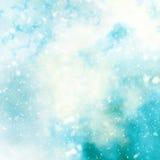 De Kerstmisachtergrond met schittert lichten Royalty-vrije Stock Afbeelding