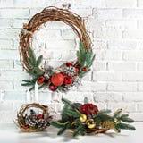De Kerstmiskroon Royalty-vrije Stock Afbeelding