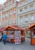 De Kerstmismarkt stock afbeelding