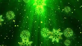 De Kerstmisvakantie schittert 2 stock videobeelden
