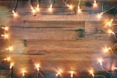 De Kerstmisvlakte lag Stock Foto's