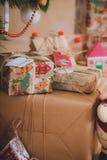 De Kerstmiswijnoogst stelt voor Stock Afbeelding
