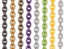 De keten van de kleur Royalty-vrije Stock Foto