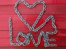 De keten van de liefde Royalty-vrije Stock Afbeelding