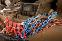 De kettingen van de krukheks van vrachtwagens Stock Afbeelding