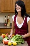 In de Keuken stock afbeelding