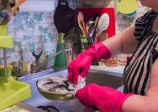 In de keuken Royalty-vrije Stock Fotografie