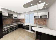 De keuken Stock Fotografie